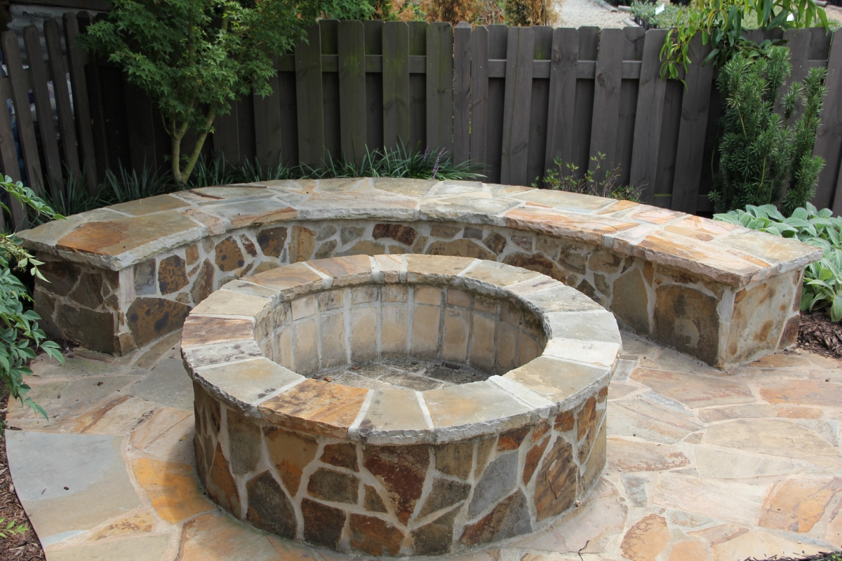Image of: Fire Pits And Fireplaces